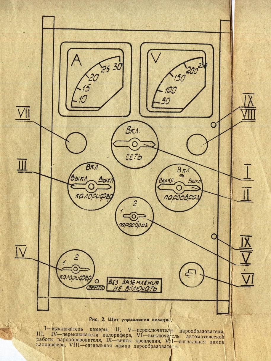дезкамера вфэ 2 0 9 электрическая схема