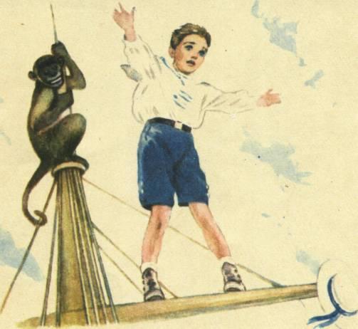 прыжок рисунок толстого сказке к